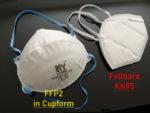 FFP2 Cup Maske vs. KN95 faltbar